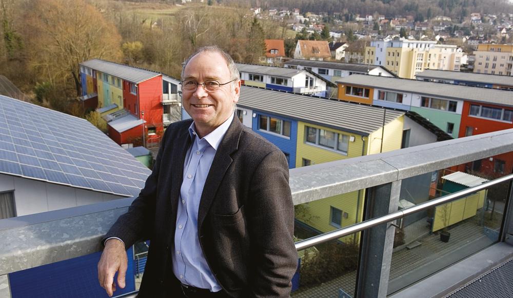Klimahäuser Schallstadt: Rolf Disch